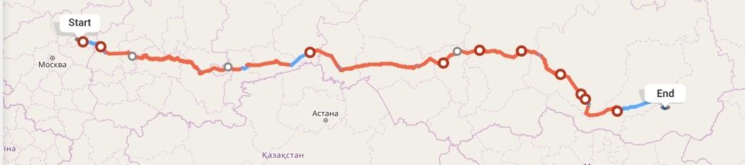 Переезд из Иваново в Читу