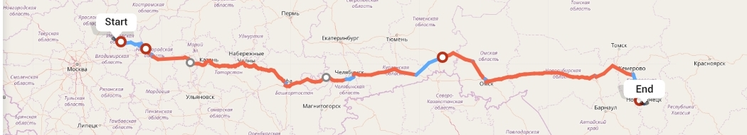 Переезд из Иваново в Новокузнецк