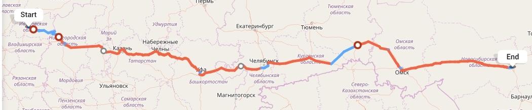 Переезд из Иваново в Новосибирск