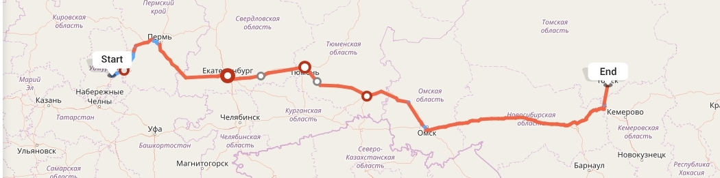 Переезд из Ижевска в Томск
