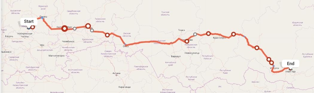 Переезд из Ижевска в Улан-Удэ