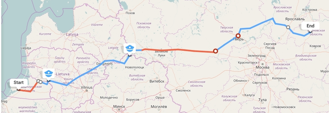 Переезд из Калининграда в Иваново