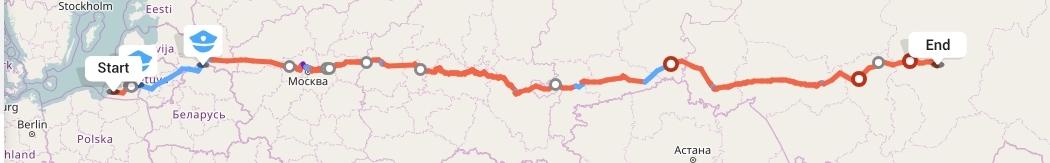 Переезд из Калининграда в Красноярск