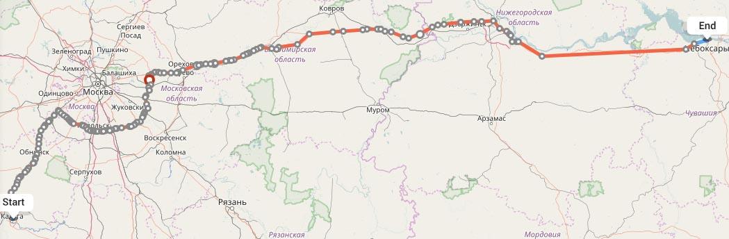 Переезд из Калуги в Чебоксары