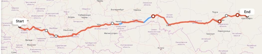 Переезд из Калуги в Красноярск