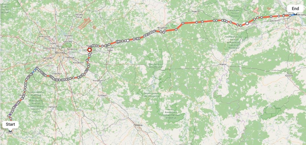 Переезд из Калуги в Нижний Новгород