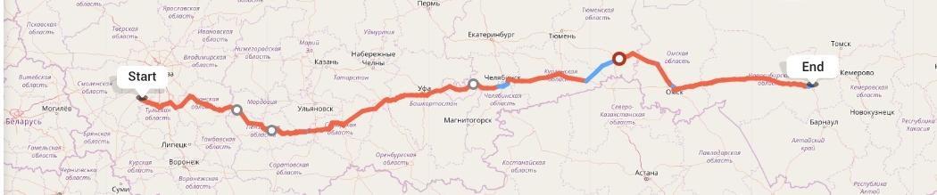 Переезд из Калуги в Новосибирск
