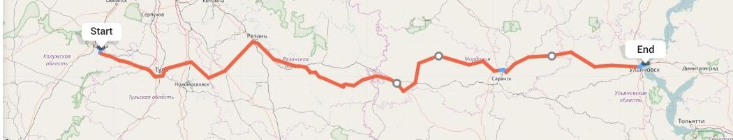 Переезд из Калуги в Ульяновск