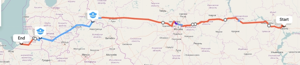 Переезд из Казани в Калининград