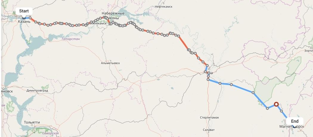 Переезд из Казани в Магнитогорск