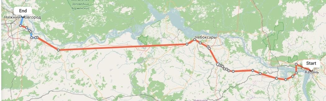 Переезд из Казани в Нижний Новгород
