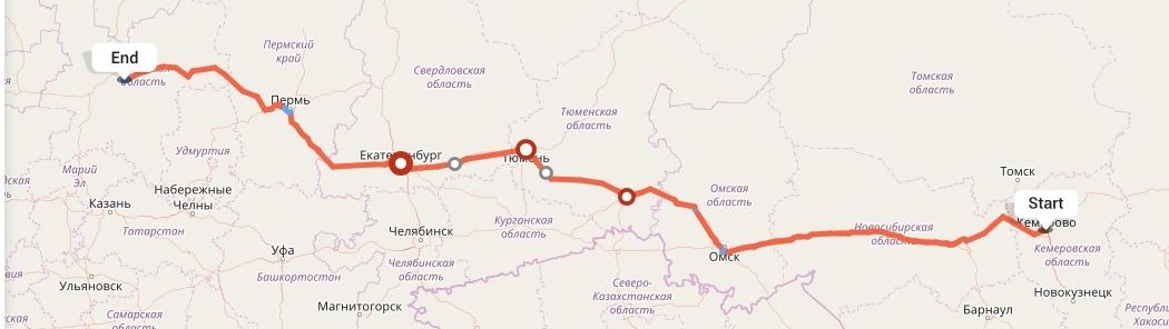 Переезд из Кемерово в Киров
