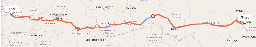 Переезд из Кемерово в Нижний Новгород