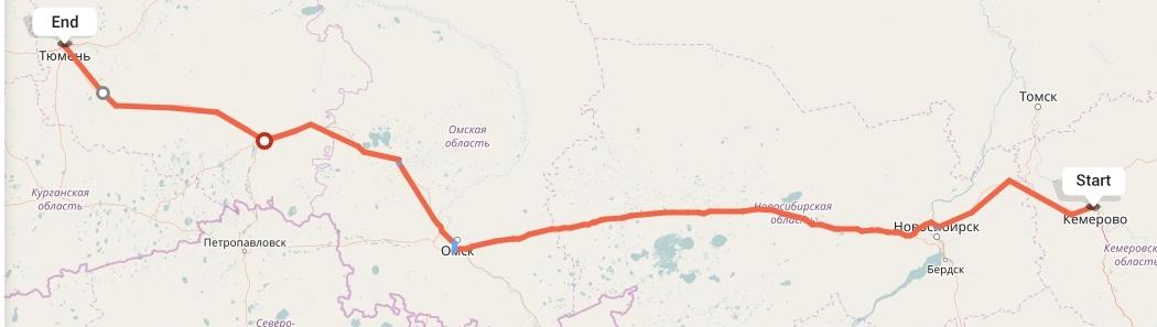 Переезд из Кемерово в Тюмень