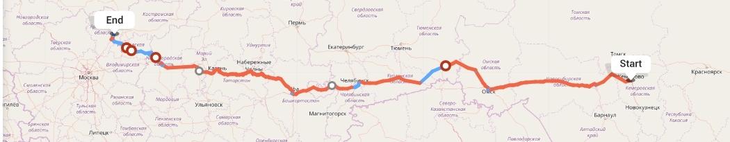 Переезд из Кемерово в Ярославль