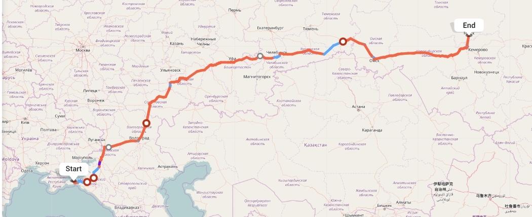 Переезд из Керчи в Томск