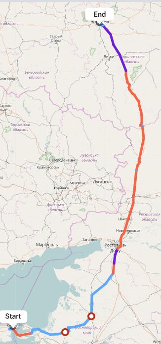 Переезд из Керчи в Воронеж