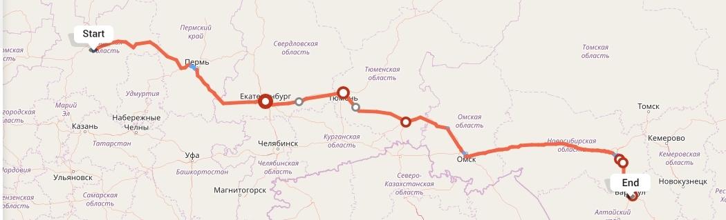 Переезд из Кирова в Барнаул