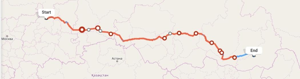 Переезд из Кирова в Читу