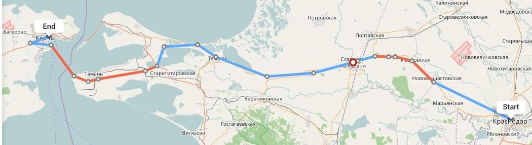 Переезд из Краснодара в Керчь