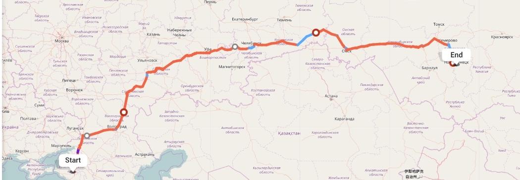 Переезд из Краснодара в Новокузнецк