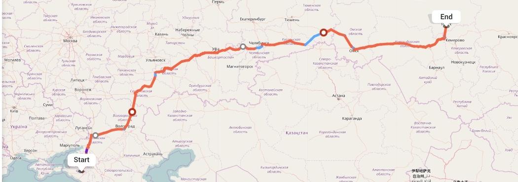 Переезд из Краснодара в Томск