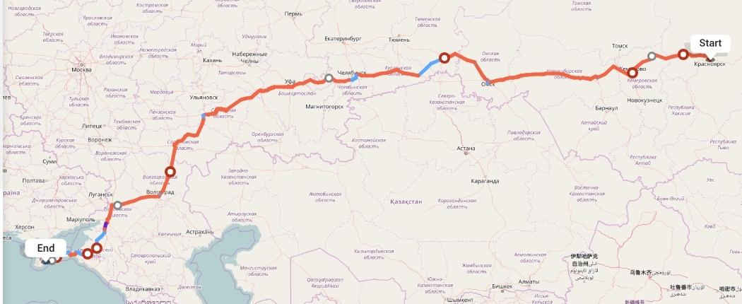 Переезд из Красноярска в Алушту