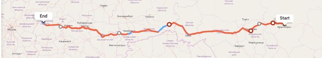 Переезд из Красноярска в Нижний Новгород