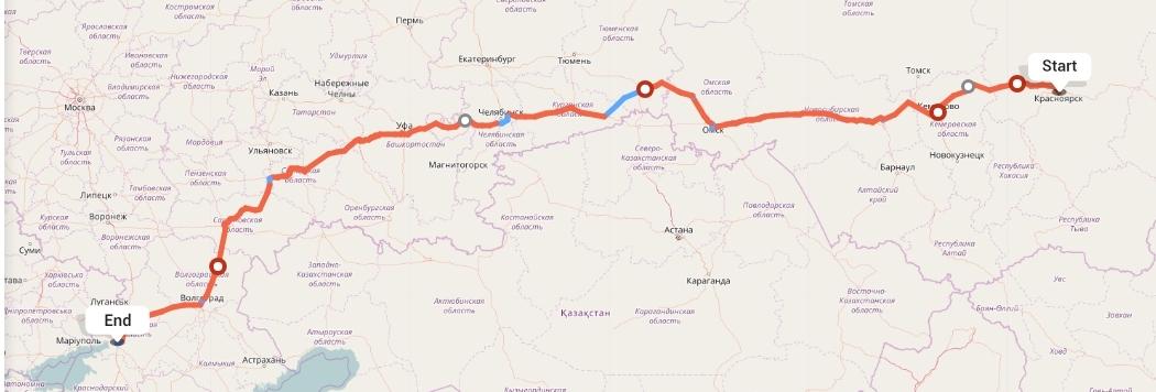 Переезд из Красноярска в Ростов-на-Дону