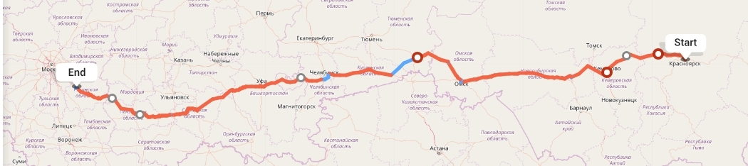 Переезд из Красноярска в Рязань