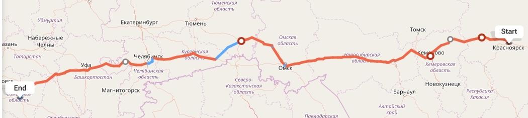 Переезд из Красноярска в Самару