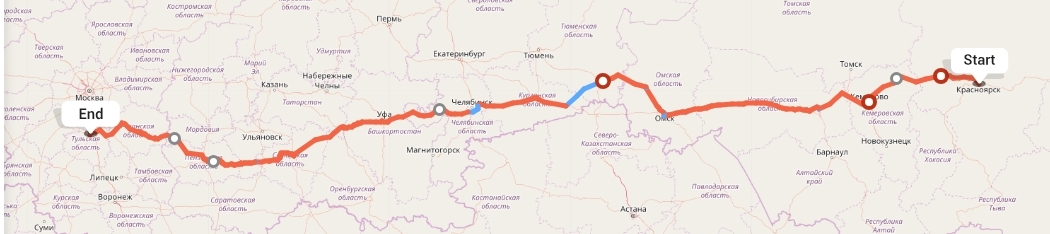 Переезд из Красноярска в Тулу