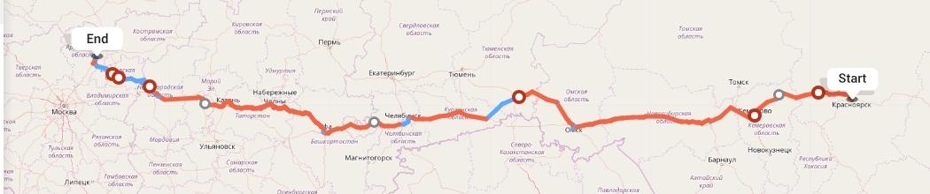 Переезд из Красноярска в Ярославль