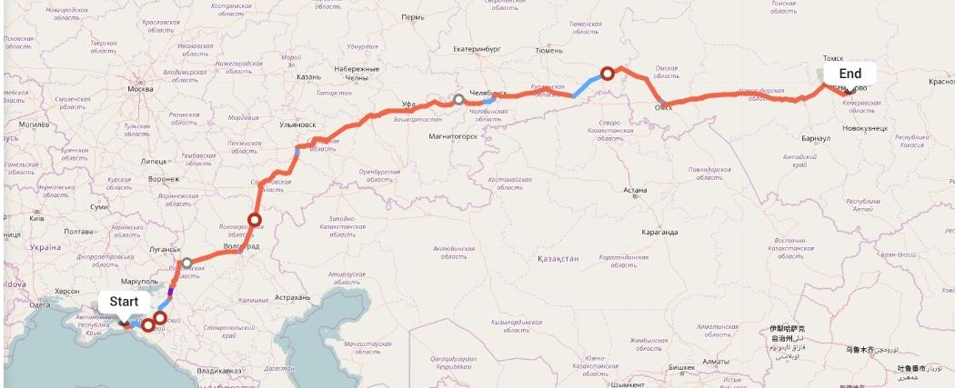 Переезд из Крыма в Кемерово