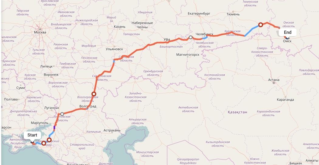 Переезд из Крыма в Омск