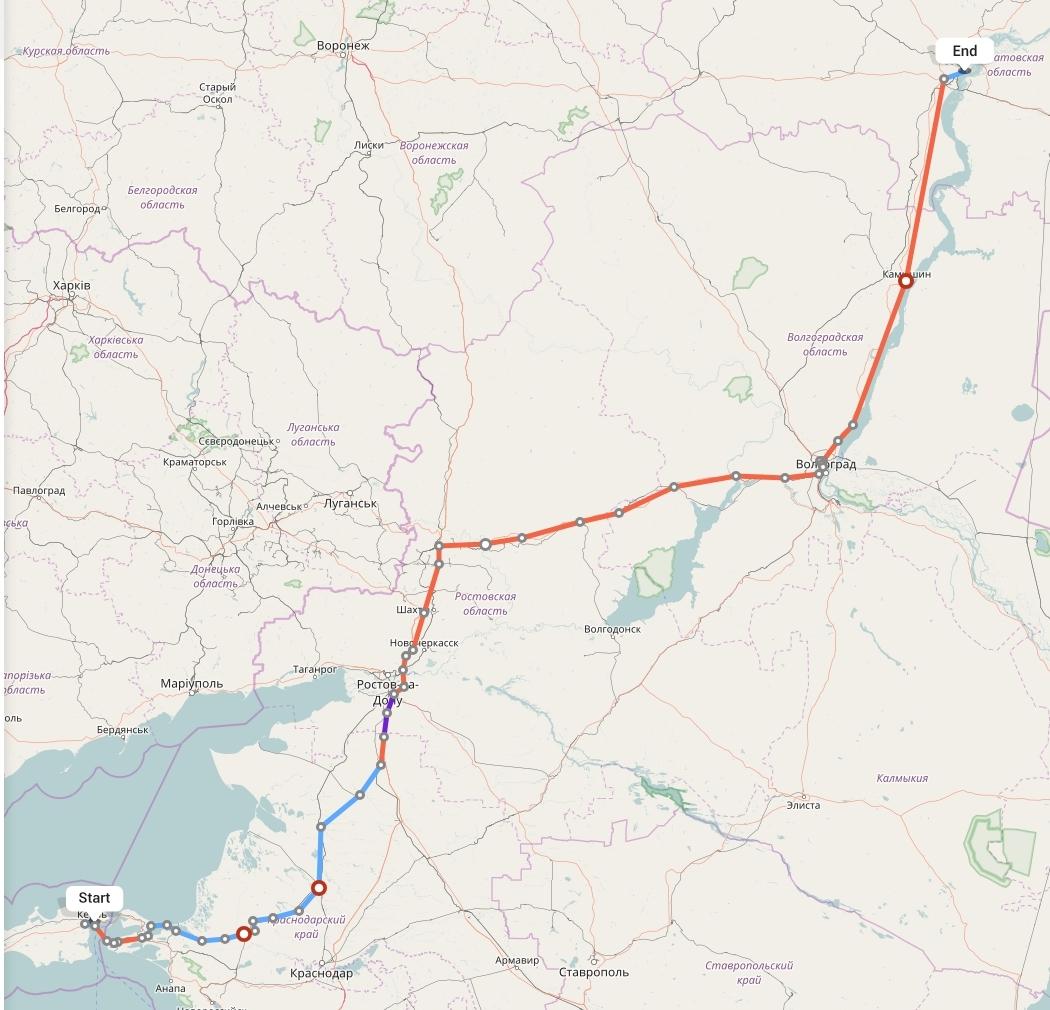 Переезд из Крыма в Саратов