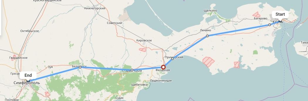 Переезд из Крыма в Симферополь