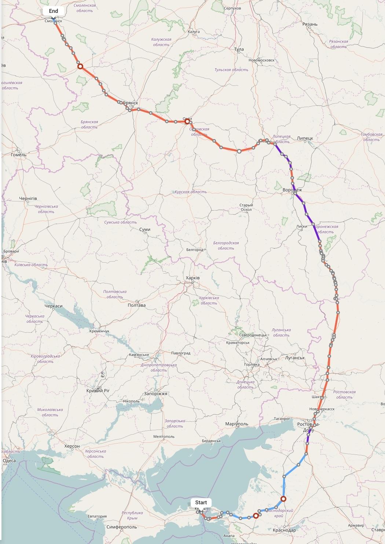 Переезд из Крыма в Смоленск