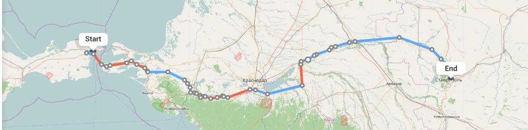 Переезд из Крыма в Ставрополь