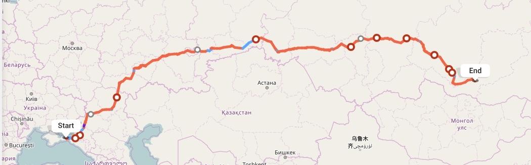 Переезд из Крыма в Улан-Удэ