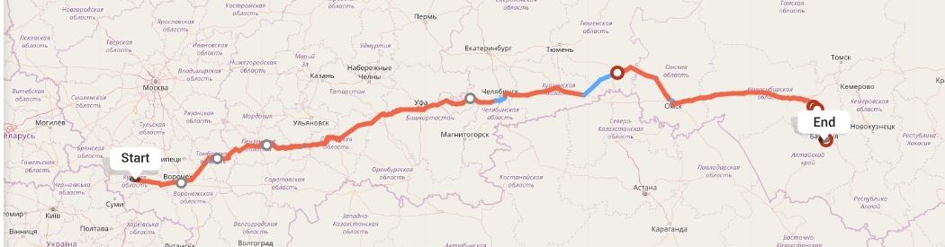Переезд из Курска в Барнаул
