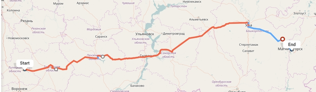 Переезд из Липецка в Магнитогорск