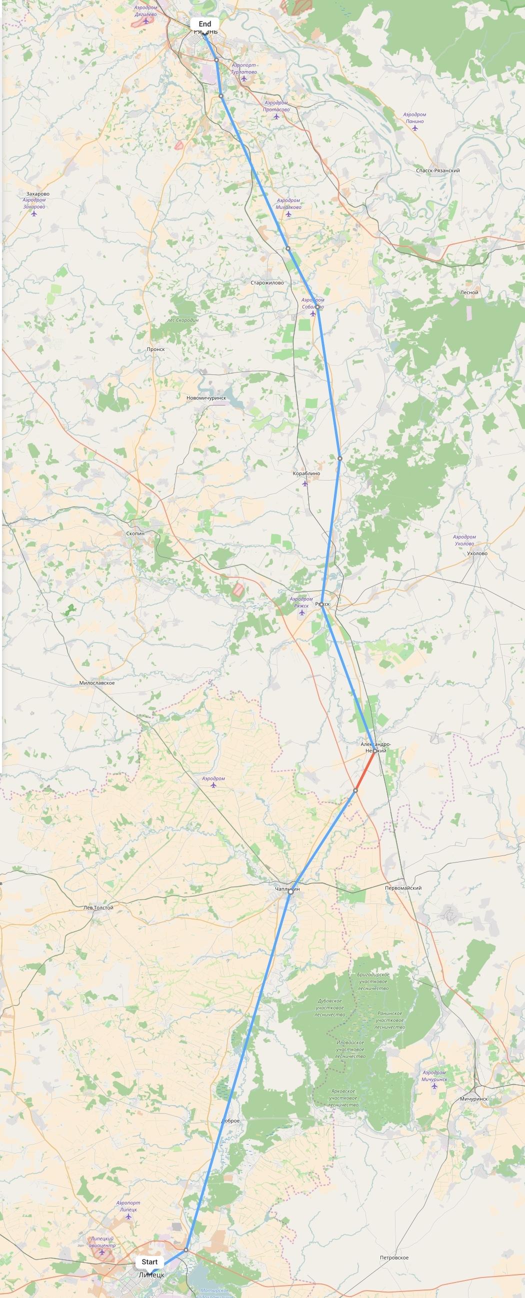 Переезд из Липецка в Рязань