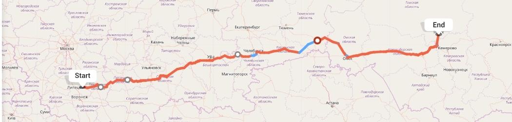 Переезд из Липецка в Томск
