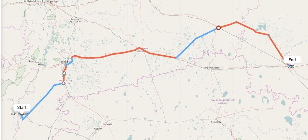 Переезд из Магнитогорска в Омск