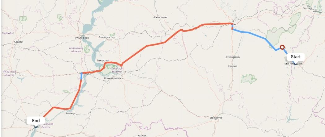 Переезд из Магнитогорска в Саратов