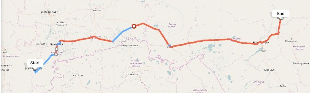 Переезд из Магнитогорска в Томск