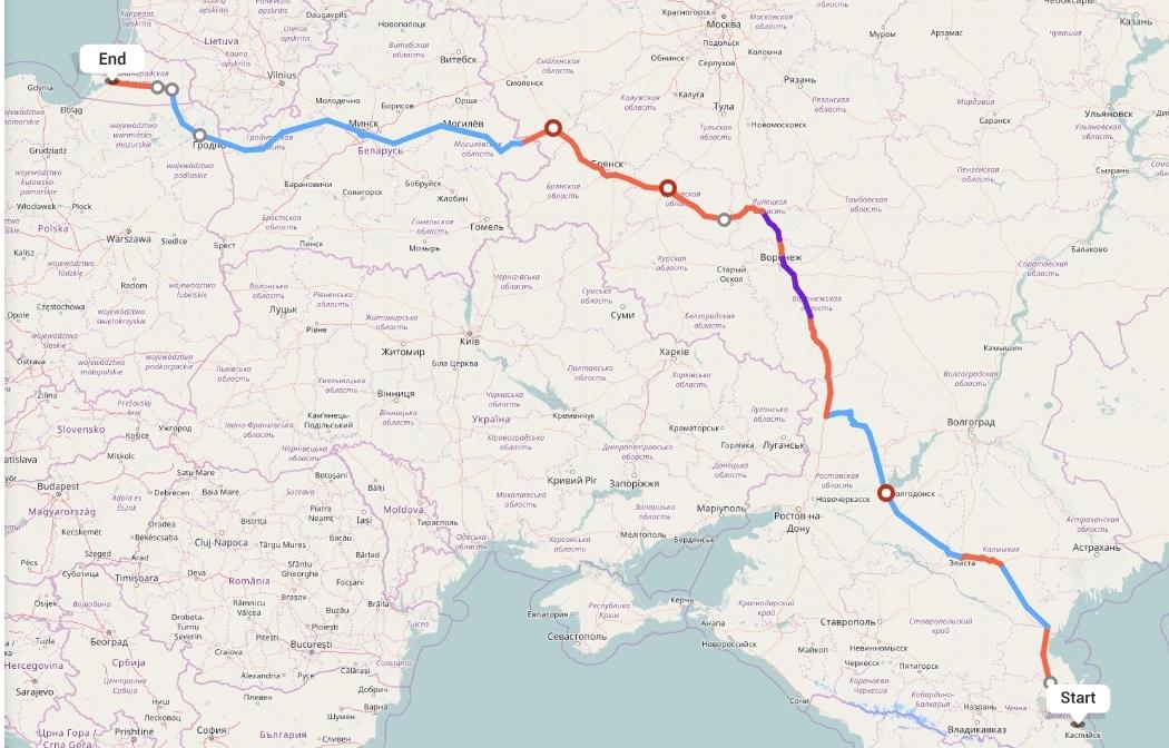 Переезд из Махачкалы в Калининград