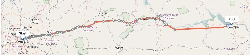 Переезд из Москвы в Чебоксары