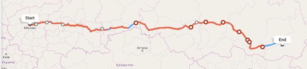Переезд из Москвы в Читу